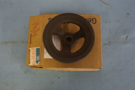 1965-1974 Corvette C2 C3,Cast Iron Deep Groove Power Steering Pump Pulley,New